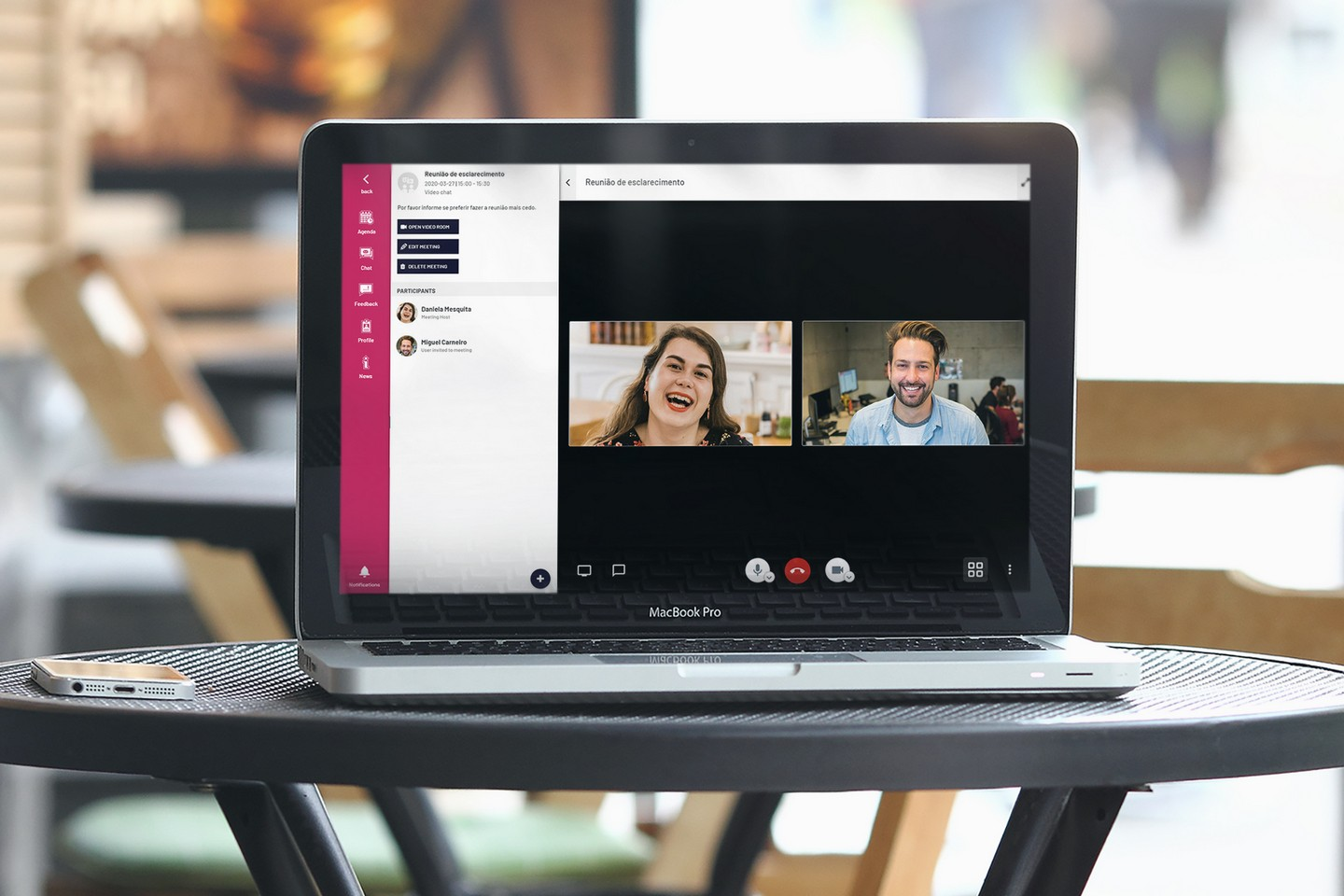 Video-Chat in Virtual Events