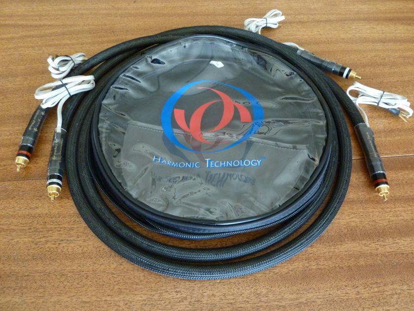 Harmonic Technology Crystal Silver Phono RCA & DIN