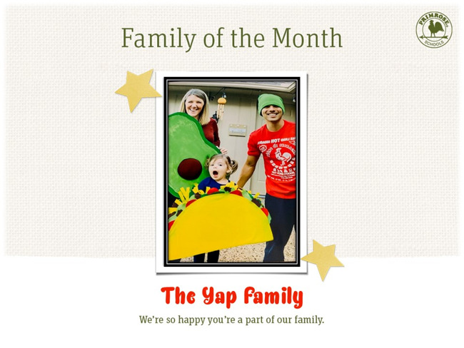 yap family of the month december happy primrose preston meadow