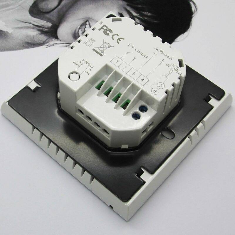 Electric heater thermostat, smart home thermostat