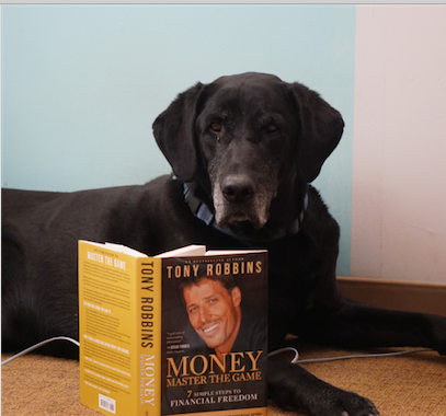 Shadow is engrossed in 'Money: Master the Game' but has yet to peruse the revised paperback edition, which touts Mallouk's RIA.