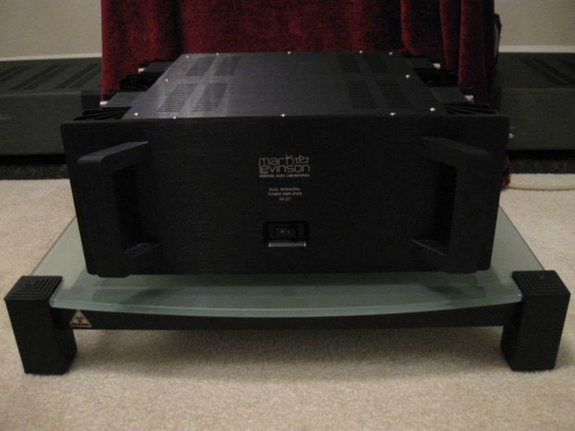 "MARK LEVINSON Model 27 Stereo Amplifier ""NOS"" New Old Stock (0 hours) Only Tested To Make Sure It Works Properly W/ Box & Access."