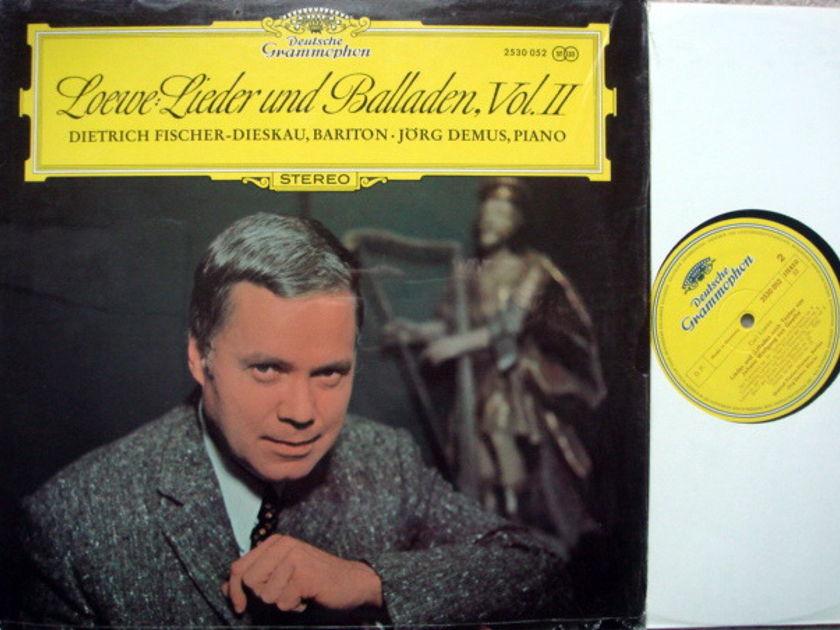 DG / FISCHER DIESKAU-DEMUS - ,Loewe Lieder und Balladen Vol.2, NM!