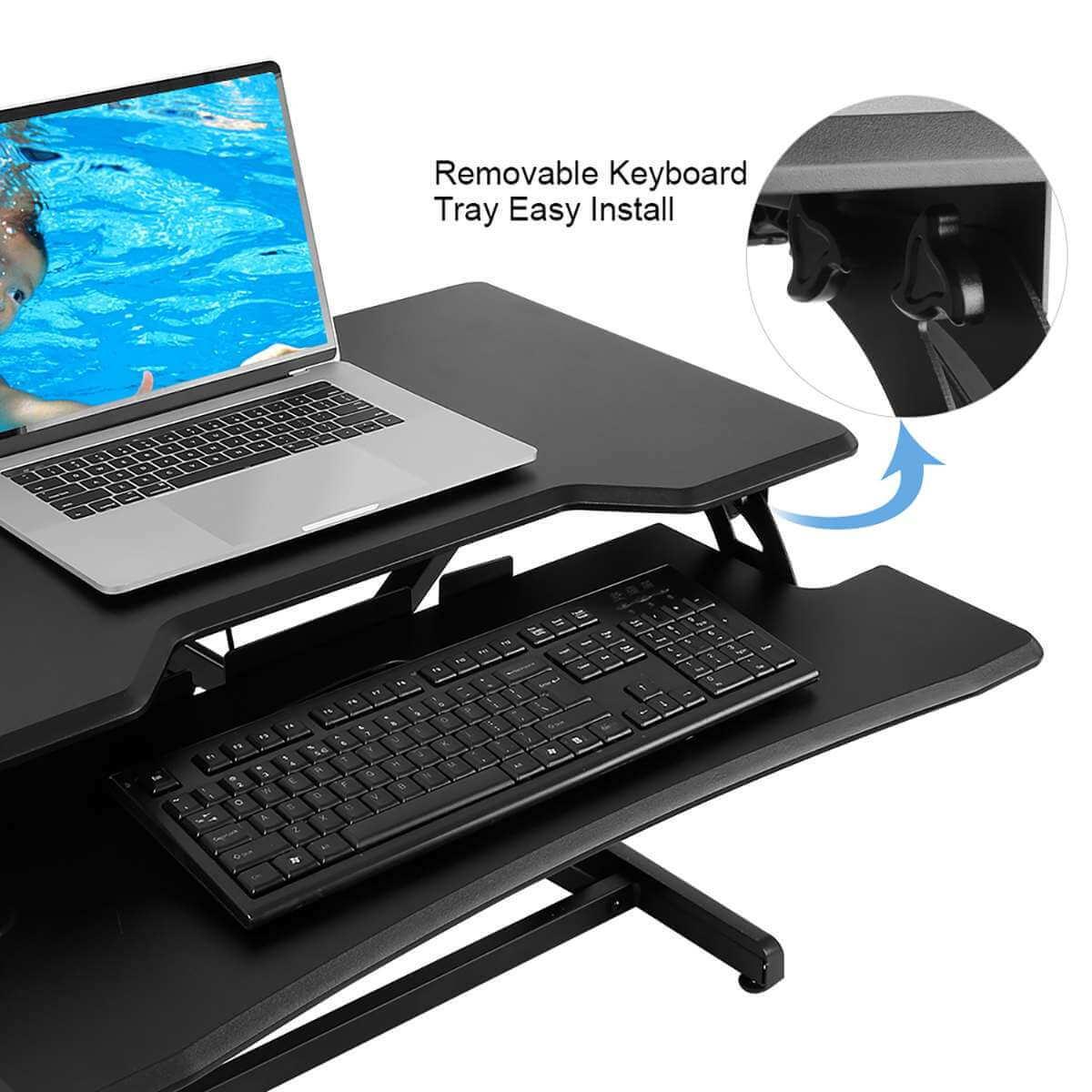 best stand up desk, standing desk ergonomics, stand up computer desk, sit stand workstation
