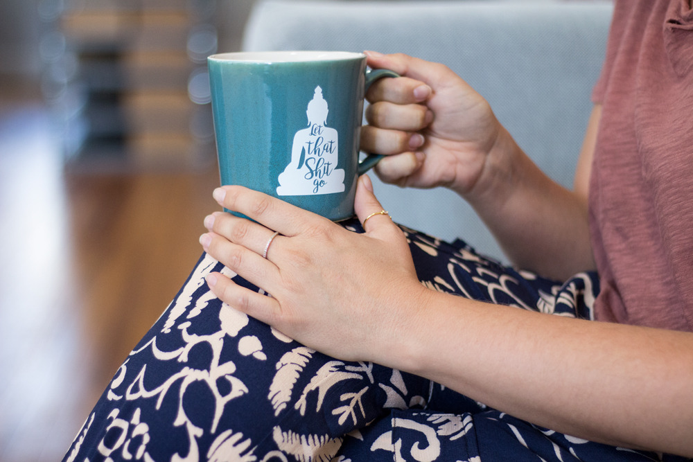 Dorm Decor Primitive Beginnings Coffee mug yoga
