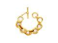 Julie Vos Beekman Link Bracelet - Gold Plate