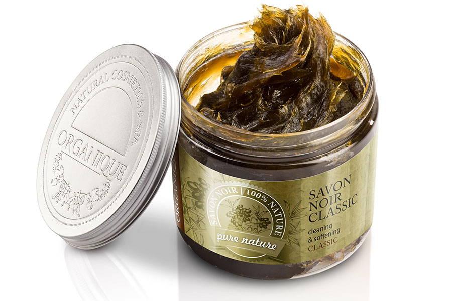 Savon Noir Classic Organic Vegan Soap 200ml Organique cosmetics natural soap