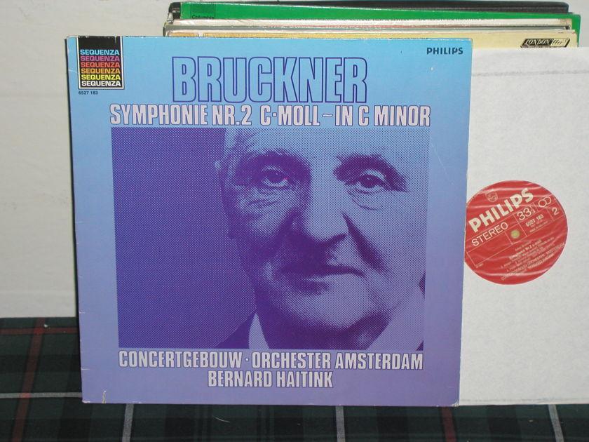 Haitink/COA - Bruckner Sym .No 2 Philips Import Pressing 6500