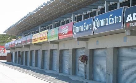 PCA Diablo Shared Garages at Laguna Seca
