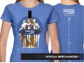 2017 Festival T-Shirt: Women's Carolina Heather Blue