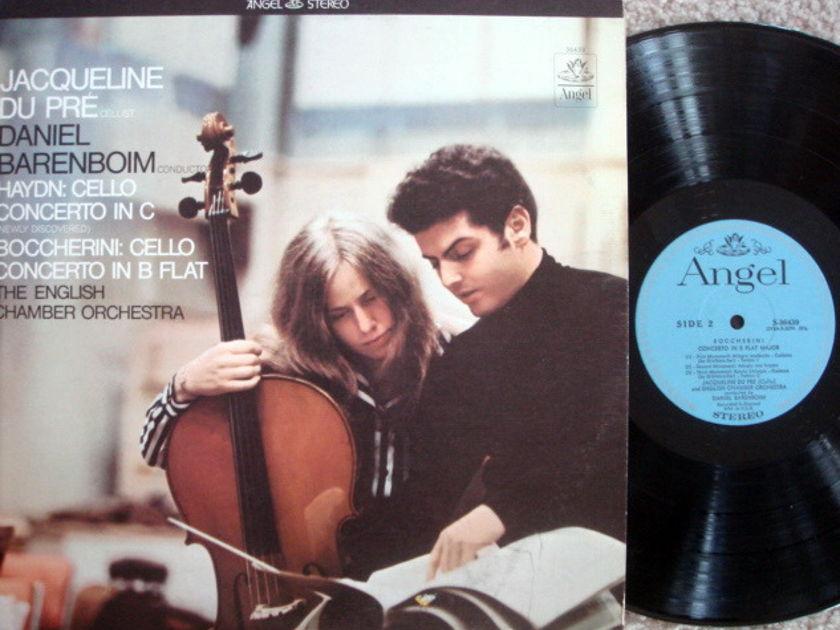 EMI Angel Blue / DU PRE-BARENBOIM, - Boccherini-Haydn Cello Concertos, VG+!