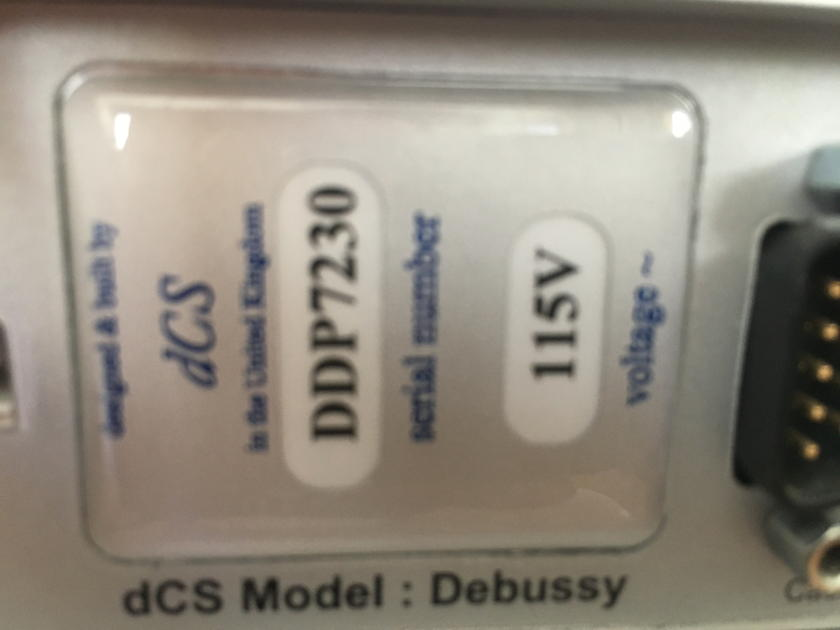 DCS Debussy DAC+PreAmp