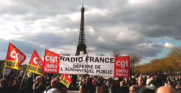 Более половины сотрудников радиостанции Radio France объявила бессрочную забастовку - Новости радио OnAir.ru