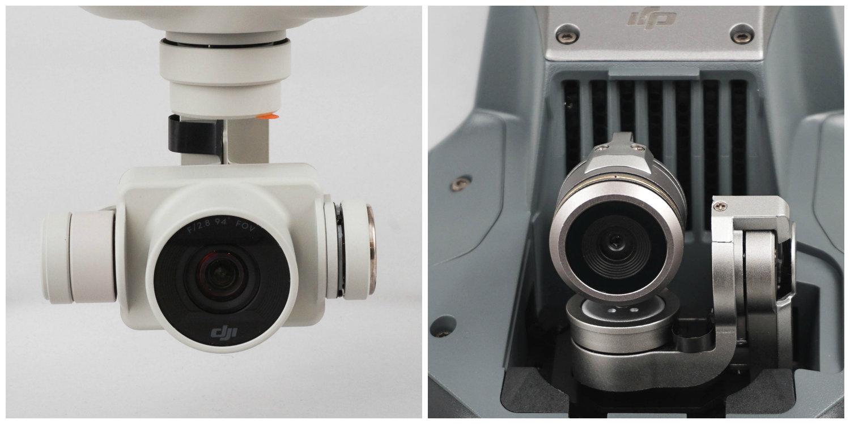 Phantom 4 Camera vs Mavic Camera