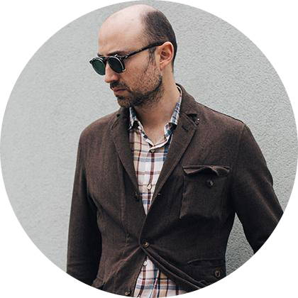 Menswear guest writer Miguel Amaral Vieira from Beyond Fabric