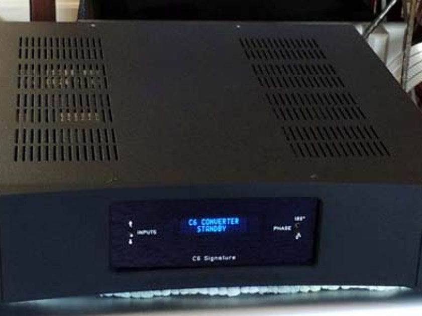 METRONOME C6 Signature Tube Output DAC,  Very Special Full Resoluiton and Tube Magic!  From Audio Revelation