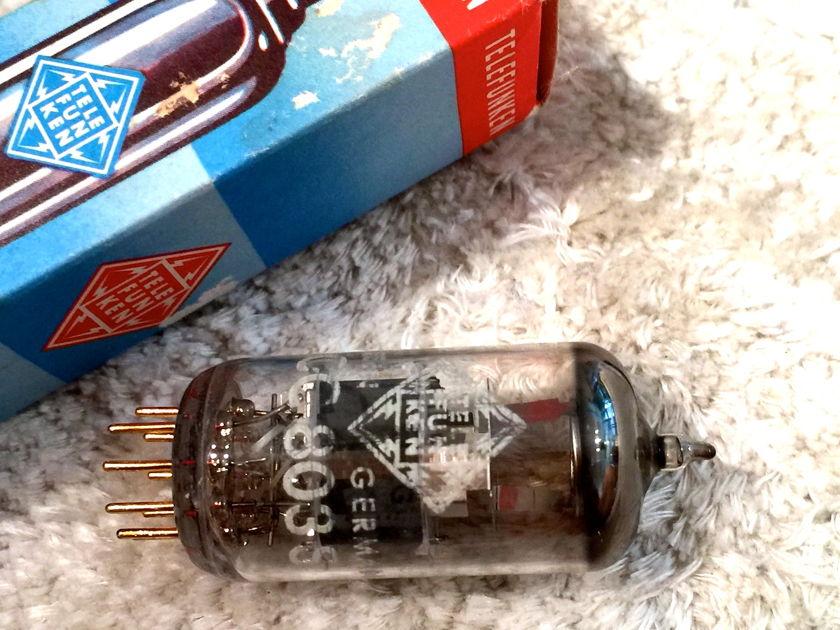 Telefunken ECC803S Rare NOS pair of tubes