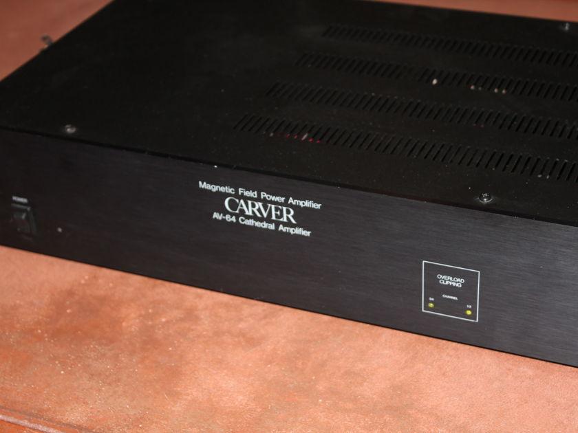 Carver AV-64 High Performance Amplifier