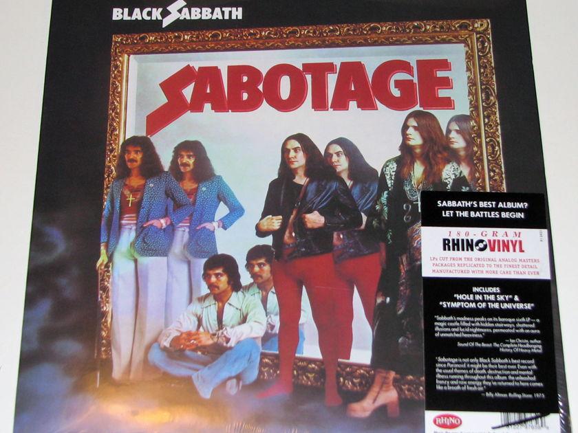 Black Sabbath - Sabotage 180-gram vinyl LP Sealed