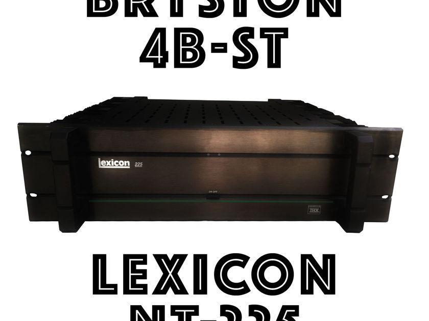 Lexicon NT-225 aka Bryston 4B ST