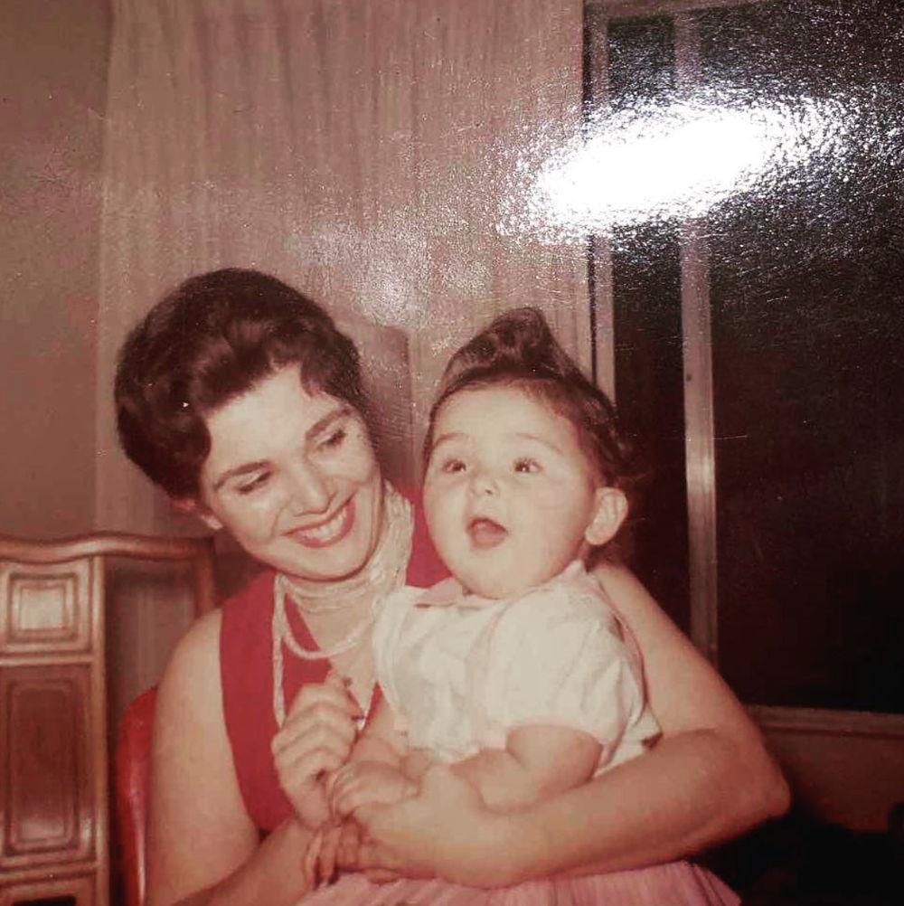 Victoria Granof as a child