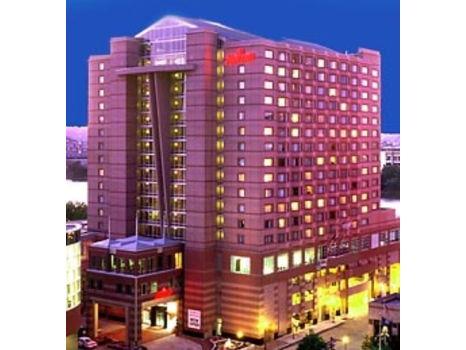 One Night Stay at the Cincinnati Marriott!