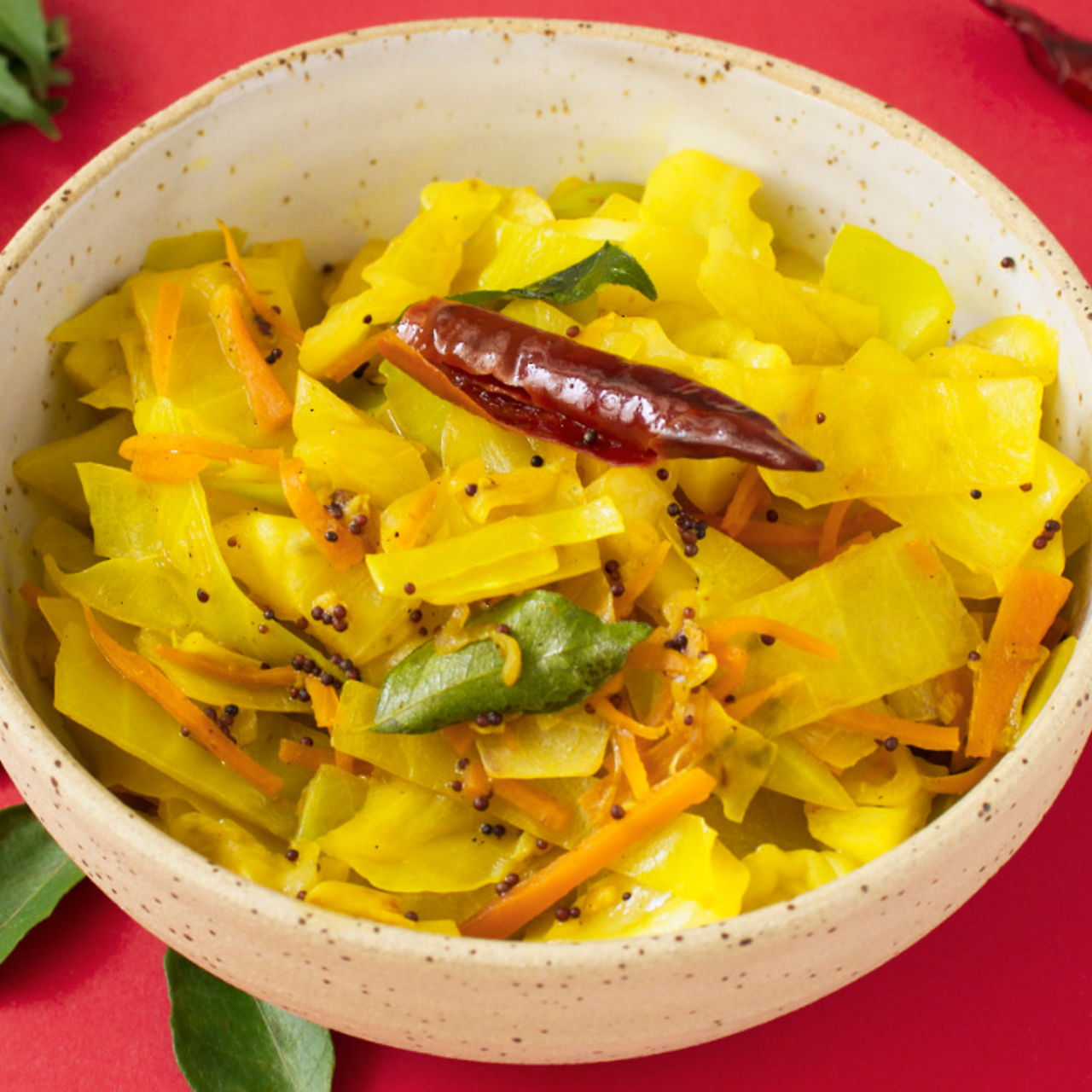 Stir Fried Cabbage With Turmeric Southeast Asian Recipes Nyonya Cooking