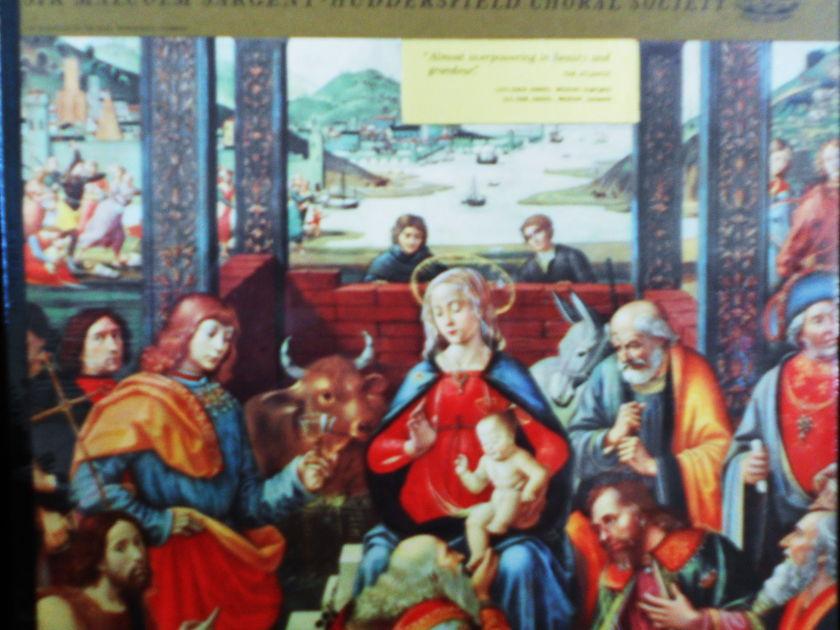 FACTORY SEALED ~ HANDEL ~ SIR MALCOM SARGENT ~  - MESSIAH HIGHLIGHTS ~ HUDDERSFIELD CHORAL SOCIETY ~  ANGEL 35830 (1960)