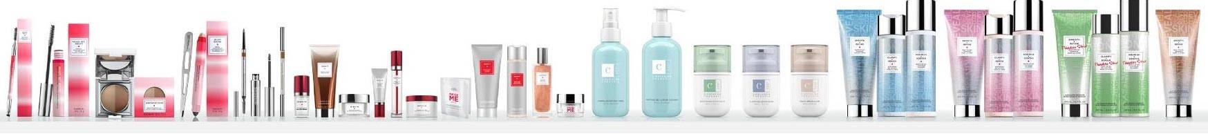 all skincare, body, bath, brow and at home skin therapie products