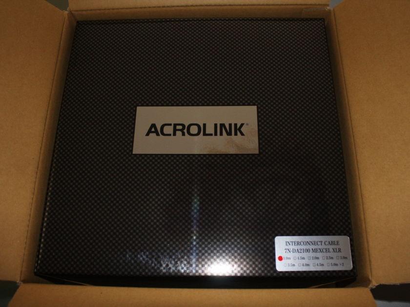 Acrolink 7N-DA2100 Mexcel Im XLR Cable Esoteric