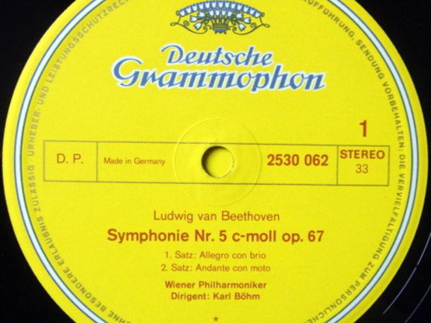 DG / KARL BOHM, - Beethoven Symphony No.5, NM!