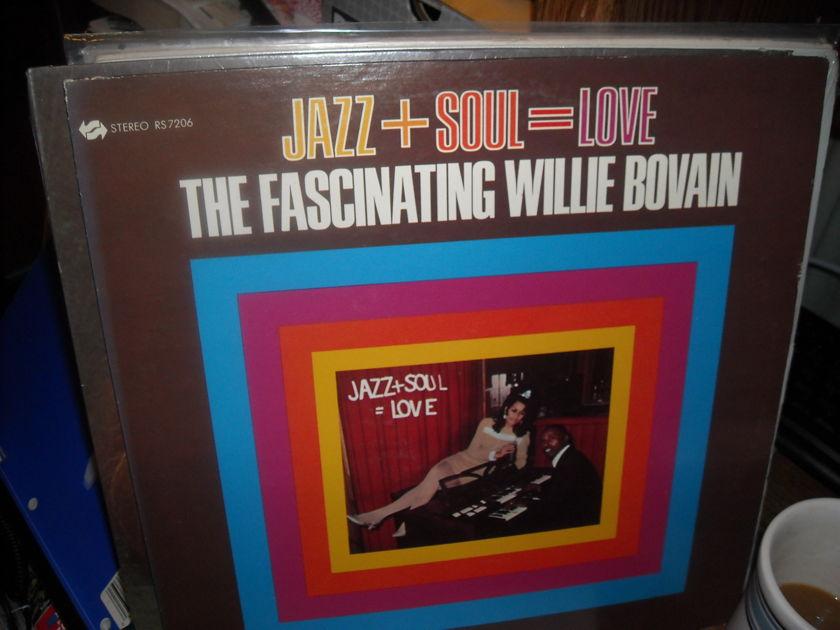 (lec) Willie Bovan - Jazz + Soul = Love  Revue  LP (c)