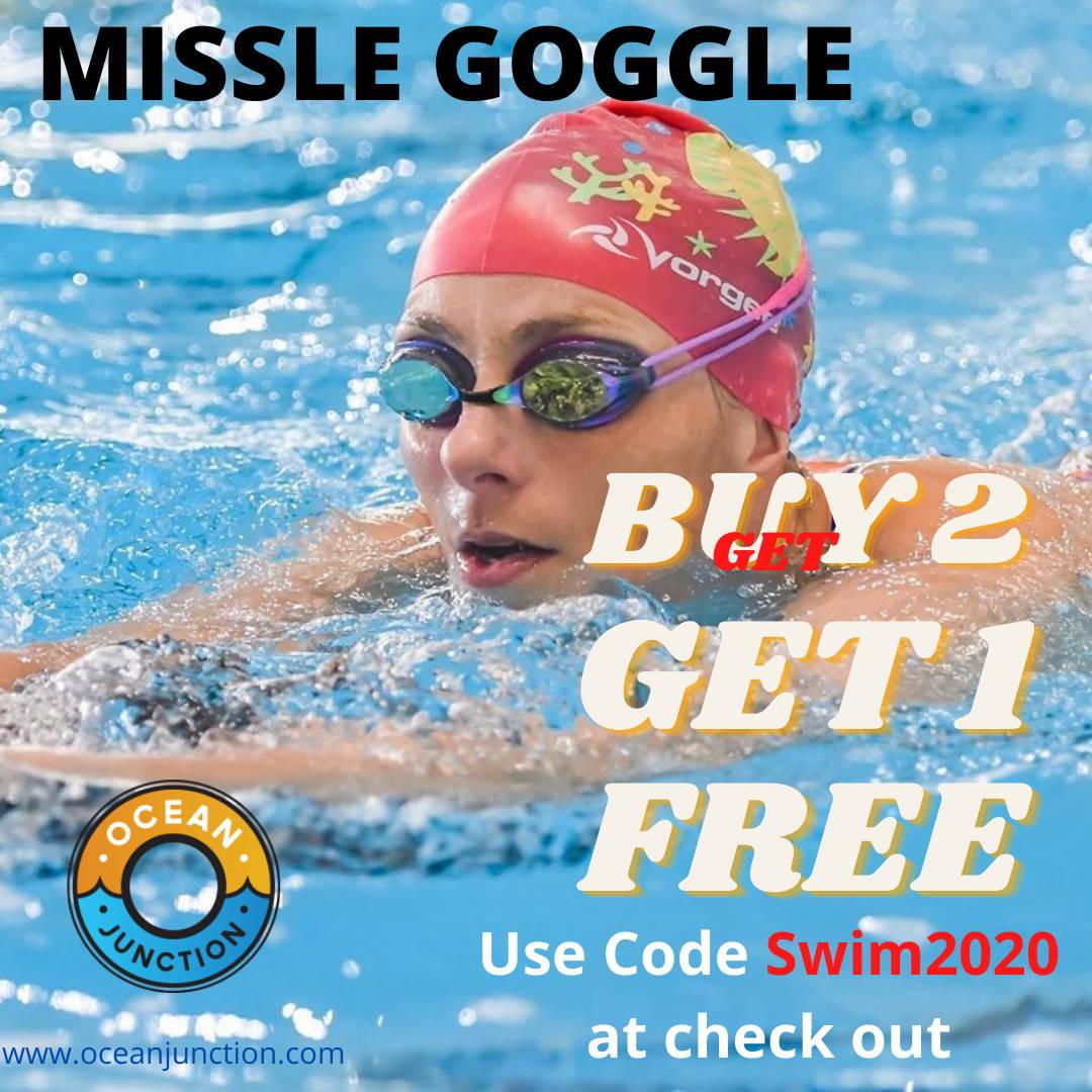 Vorgee Missile Swimming Goggle Promo