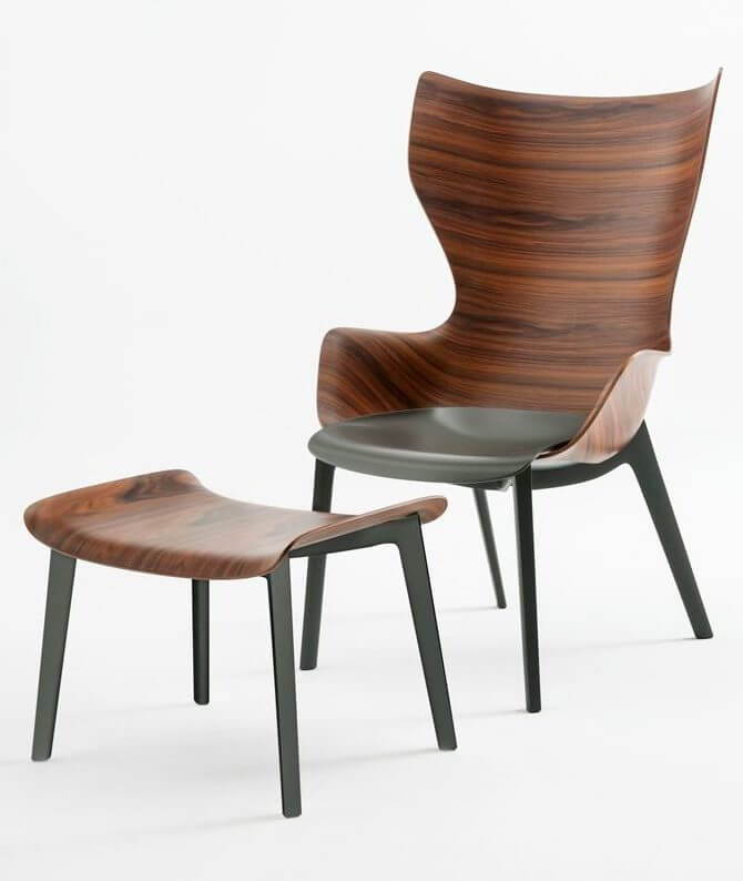 Kartell Kingwood Lounge Chair