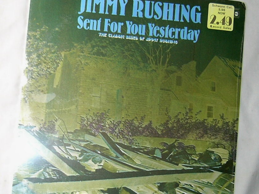 JIMMY RUSHING LP-- - SENT FOR  YOU YESTERDAY-- rare 1973 SEALED blues album on Bluesway