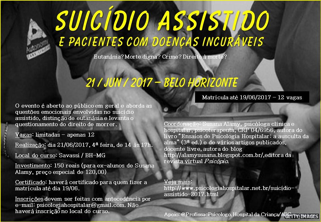Suicídio Assistido e Pacientes com Doenças Incuráveis