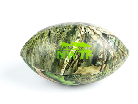 Custom MO OB Football w/ NWTF Graphics