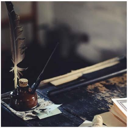 Photo d'un encrier sur une table d'impression textile