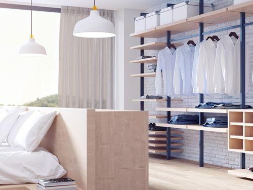 Hebt u plaats nodig voor uw garderobe een dressing biedt de