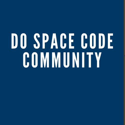 Picture of Informational Webinar for the NEW Do Space Code Community