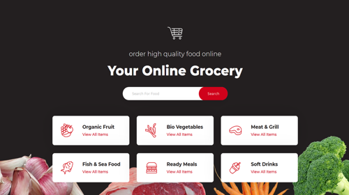 Grocery Homepage