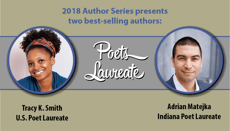 Poets Laureate Tracy K. Smith and Adrian Matejka