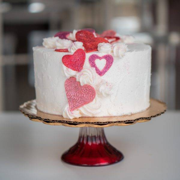 Order a cake for your sweetheart this Valentine's Day! Call the House of Clarendon in Lancaster, PA to start your order.