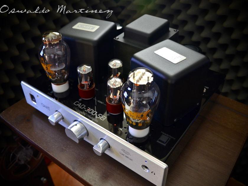 Cary Audio Design CAD-300SEI •Recent Factory Service (Silver)