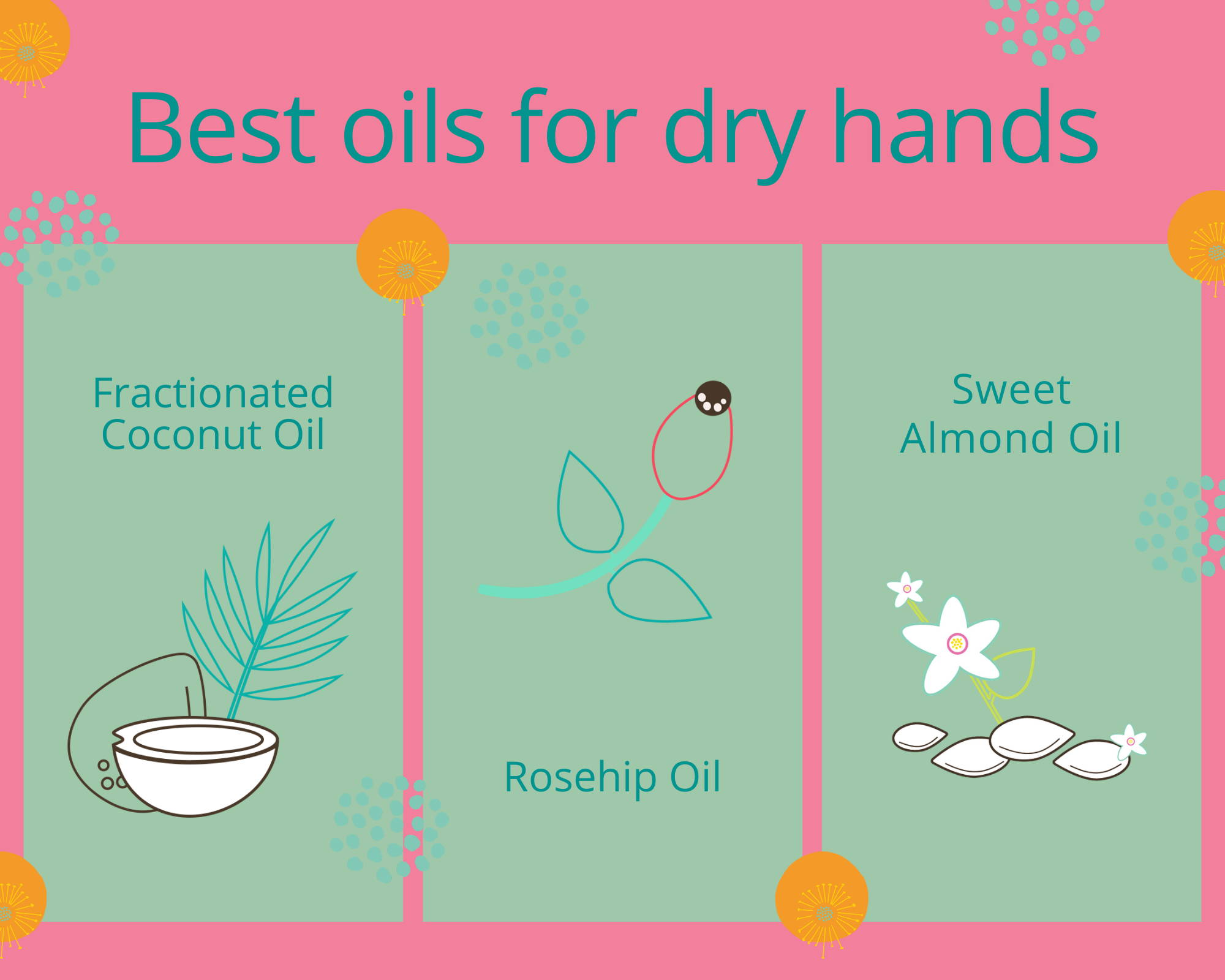 Best oils for dry hands