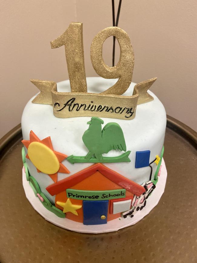 19 years cake