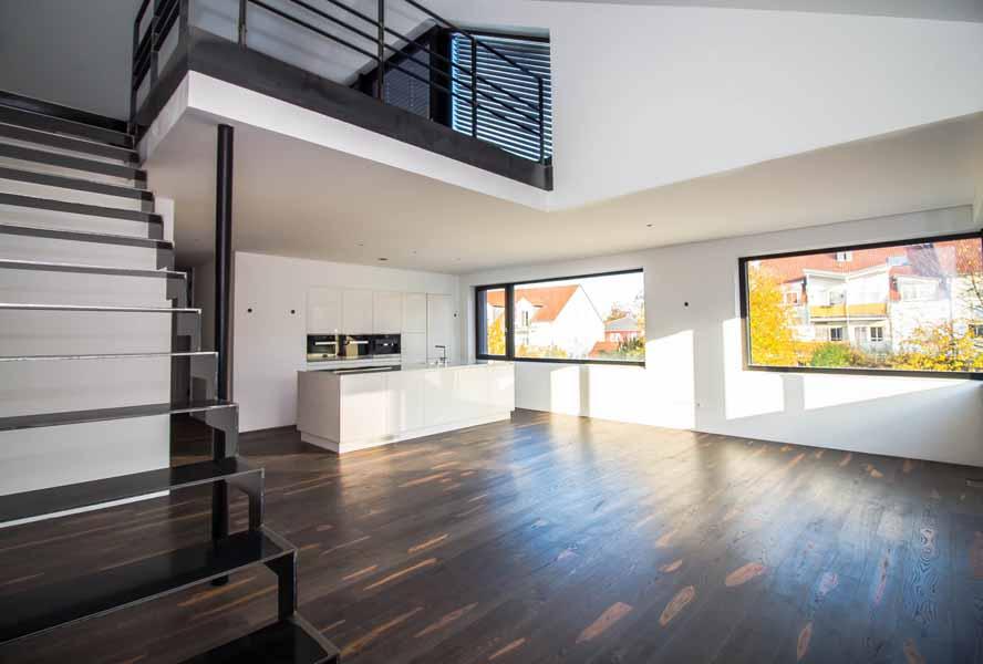 diese hochwertige maisonette loftwohnung in ingolstadt hat viel zu bieten. Black Bedroom Furniture Sets. Home Design Ideas