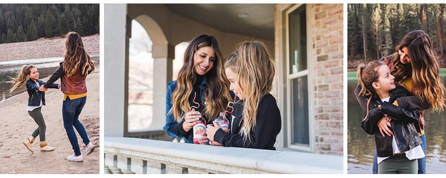 bella ella boutique owner Alisha merrill and daughter