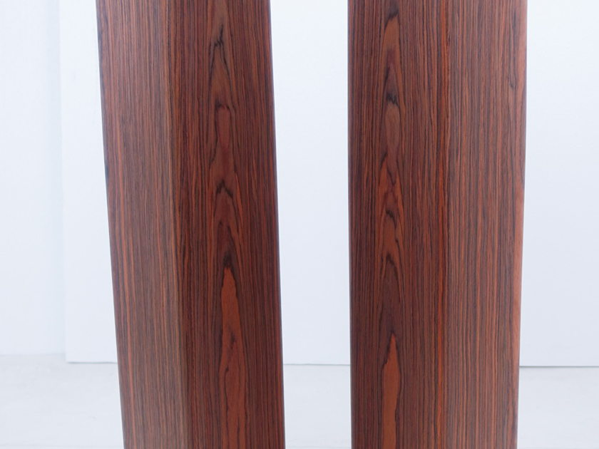 Ohm MicroWalsh Tall Signature Series Speakers; Rosewood (8542)