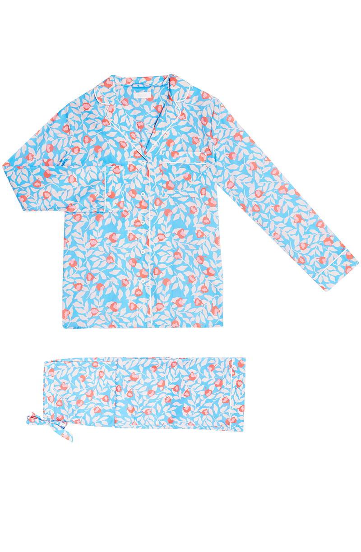 YOLKE Nectarine Cotton Pyjama Set